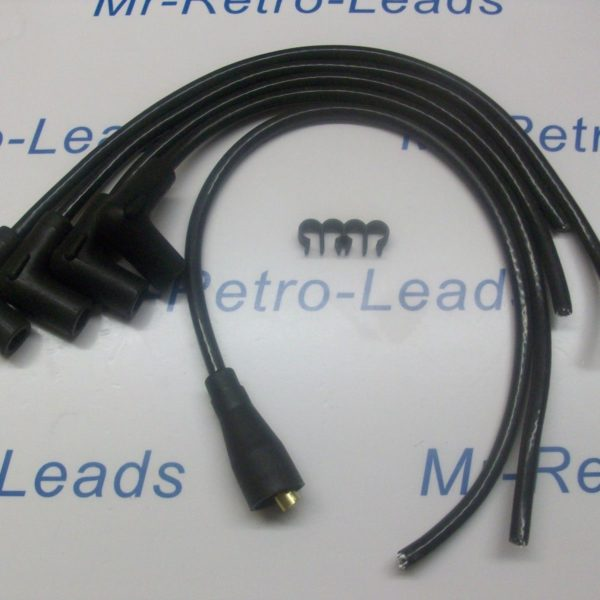 Black 7mm Ignition Leads Austin A40 Somerset 1953 >1956 Quality Built Ht Leads