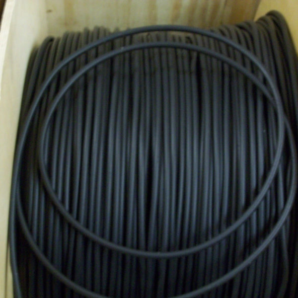 Black 7mm Suppressed Silicone Ht Ignition Lead Carbon Core Cable  X 1 Meter