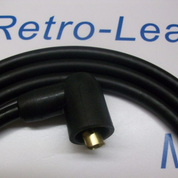 Black 8mm Extra Long Ignition Coil Lead 1.5 Meter Ht Cars From  50s / 70s & More