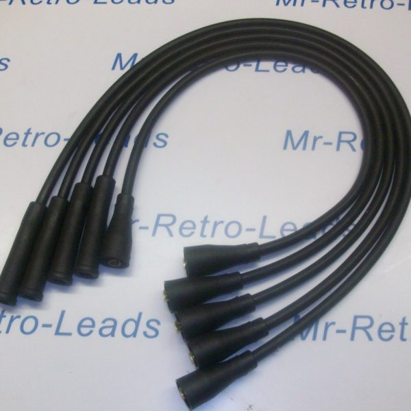 Black 8mm Performance Ignition Leads Ford Escort Mk2 Mk3 Fiesta Mk1 Mk2 Quality