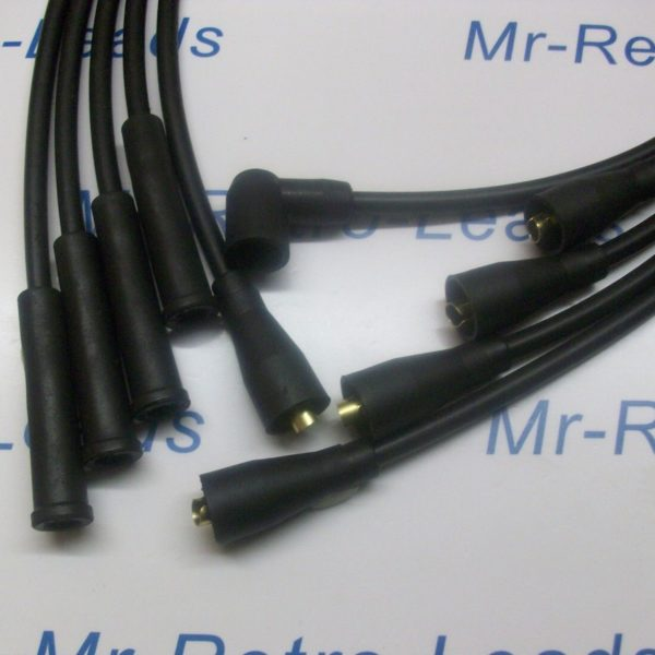 Black 8mm Performance Ignition Leads To Fit Lotus Excel Esprit 2.0 Quality Build