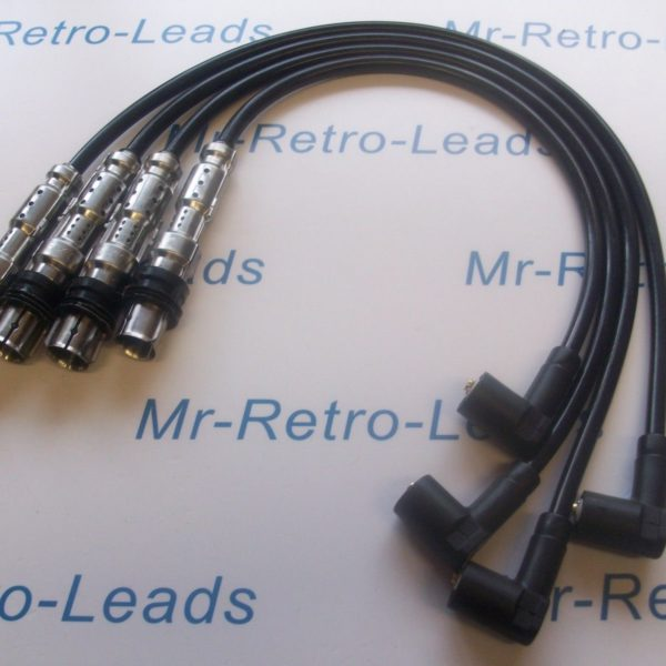 Black 8mm Performance Ignition Leads For Audi Sportback A1 A3 1.2 Tfsi Quality