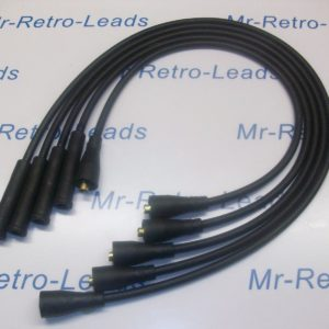 Black 8mm Performance Ignition Leads Will Fit Lotus Elan Cortina Twin Cam Escort