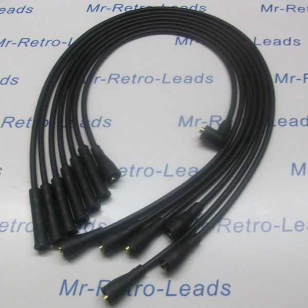 Black 8mm Performance Ignition Leads To Fit Datsun 240z 260z Quality Ht Leads