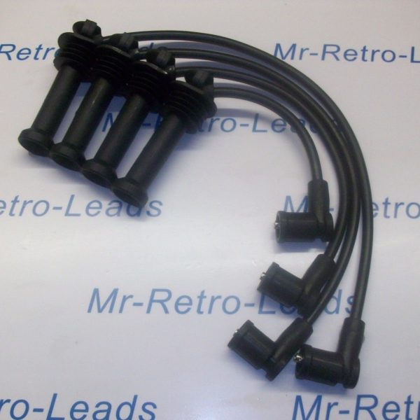 Black 8mm Performance Ignition Leads Ford Transit Connect 1.8 16v Quality Leads