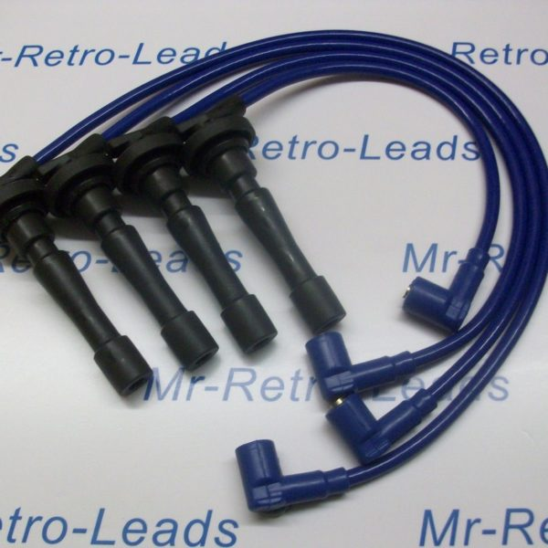Blue 8.5mm Performance Ignition Leads To Fit Honda Civic B16 B18 Dohc Engines Ht
