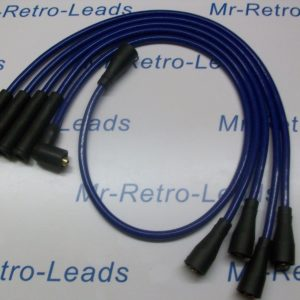 Blue 8.5mm Performance Ignition Leads For Triumph Tr7 Late Type Quality Leads