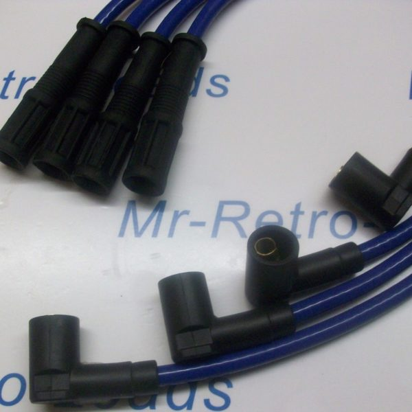 Blue 8.5mm Performance Ignition Leads Fiat Cinquecento Seicento 1.1 Sporting Ht.