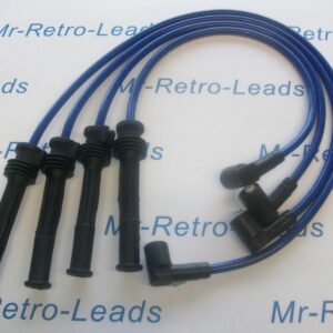Blue 8.5mm Performance Ignition Leads Renault Clio Mk11 2.0 16v Sport Fiat Punto