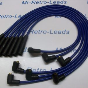 Blue 8.5mm Performance Ignition Leads Will Fit. Reliant Scimitar V6 Essex Tvr Ht