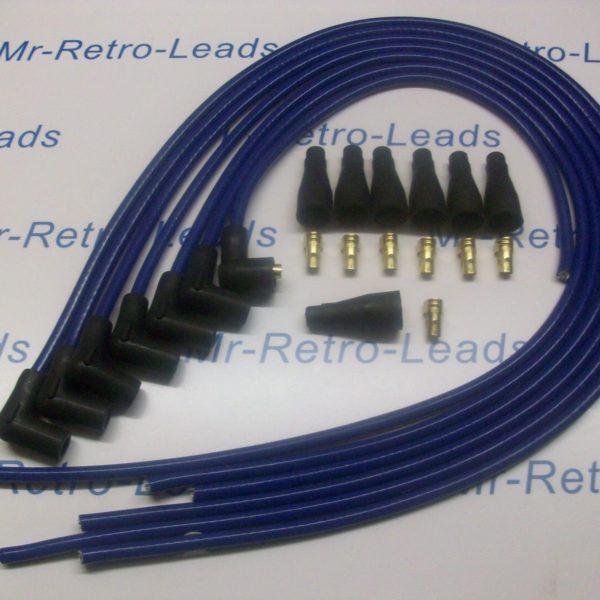 Blue 8.5mm Performance Ignition Lead Kit To Fit Jaguar Mk 2 Xj6 Xk 6 Cyl Quality