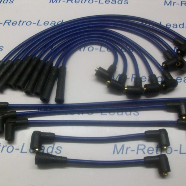 Blue 8.5mm Performance Ignition Leads  Jaguar Daimler V12 Series 3 He Xj12 Xj6