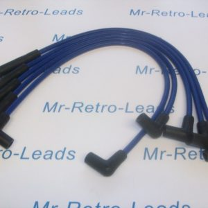 Blue 8.5mm Performance Ignition Leads Wrangler Jeep Cj7 2.5 4-cyl Quality Leads