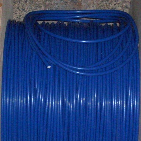 """Blue 8mm 20"""" Inches Extra Long Ignition Coil Lead Ht Cars From  50s / 70s & More"""