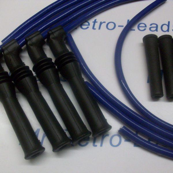 Blue 8mm Ignition Lead Kit Peugeot 309 405 1.9 Mi16 16v Bx19 Citroen 16v Racing