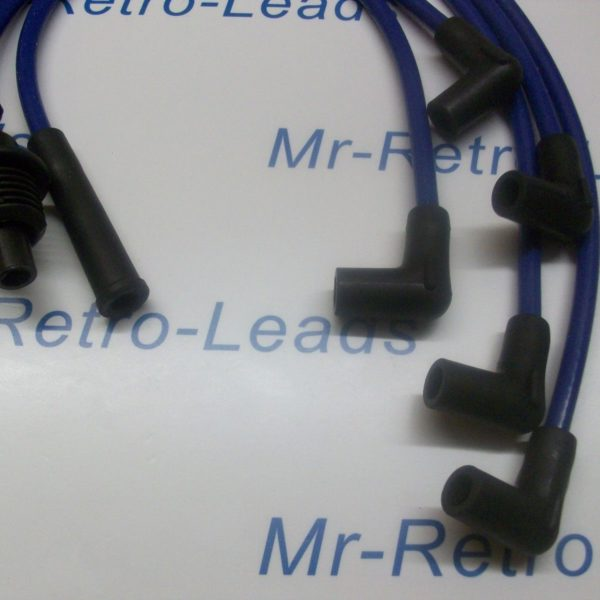 Blue 8mm Performance Ignition Leads.. Renault Clio 1.8i Rsi 8v 19 1.8i Cabriolet