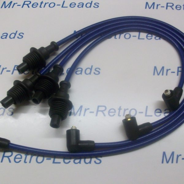 Blue 8mm Performance Ignition Leads For Peugeot Citroen 205 306 309 405 406 Ht..