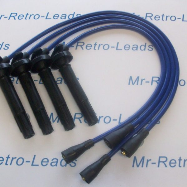 Blue 8mm Performance Ignition Leads Will Fit.. Subaru Impreza Forester Quality