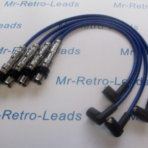 Blue 8mm Performance Ignition Leads For Audi Sportback A1 A3 1.2 Tfsi Quality Ht