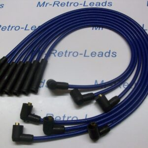 Blue 8mm Performance Ignition Leads Will Fit. Reliant Scimitar V6 Essex Tvr Ht