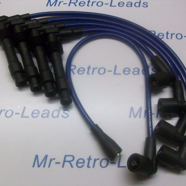 Blue 8mm Performance Ignition Leads C20let C20xe Vauxhall Cavalier Calibra Ht