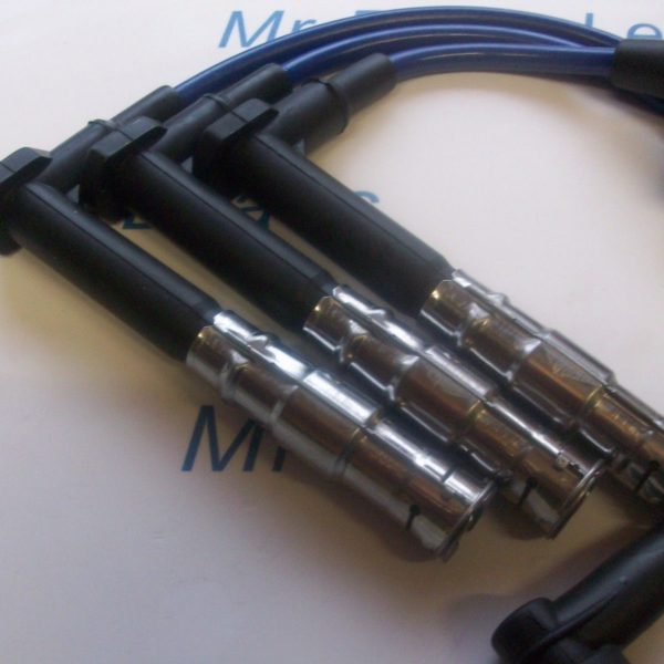 Blue 8mm Performance Ignition Leads For Mercedes 320 280 Sl C E G S M104 Ht Lead