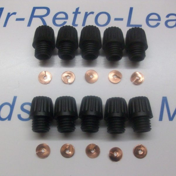 Distributor Acorn Screw In Terminals 10 Brass Split Washers 10 1930-60s Lucas Ht