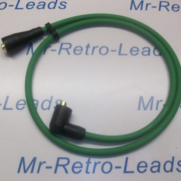 Green 8mm Extra Long Ignition Coil Lead 1 Meter From  50s / 70s  And More Ht ..