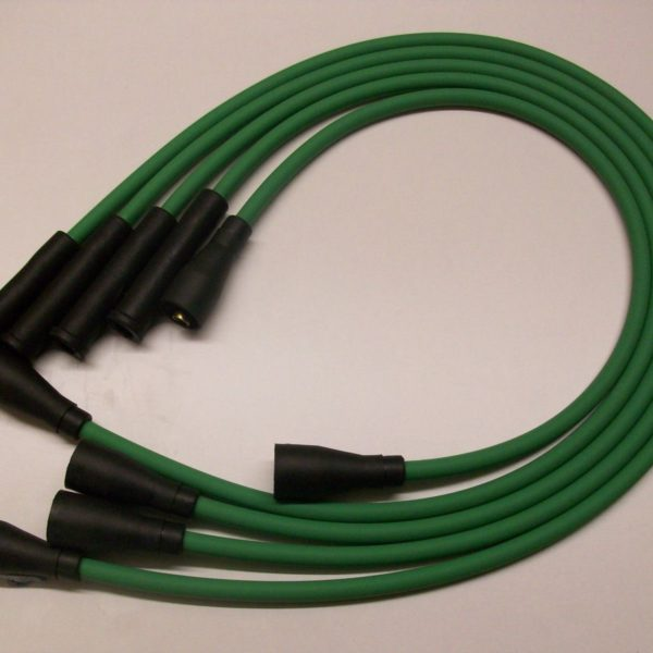 Green 8mm Ignition Leads Will Fit Ford Capri 1.6 2.0 Ohc Cortina P100 Quality Ht
