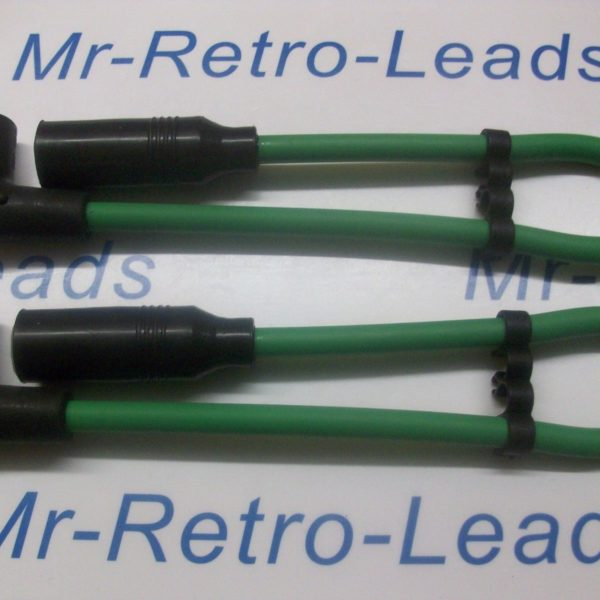 Green 8mm Ignition Leads Harley Davidson Twin Cam 99-08 Sport Touring Quality