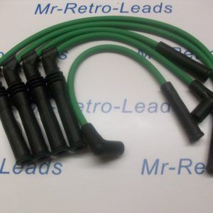Green 8mm Performance Leads For Peugeot 309 405 1.9 Mi16 16v Bx19 Citroen 16v Ht