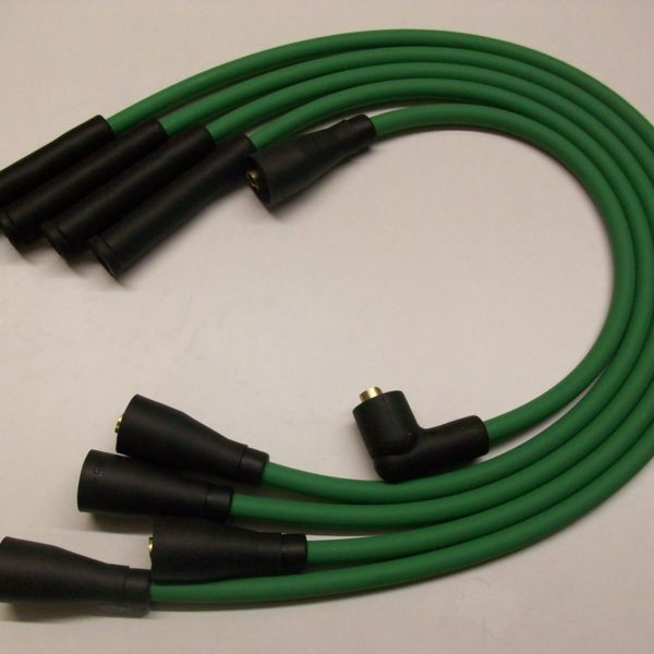 Green 8mm Performance Ignition Leads Will Fit. Ford Fiesta Mk1 950 1.1 Quality..