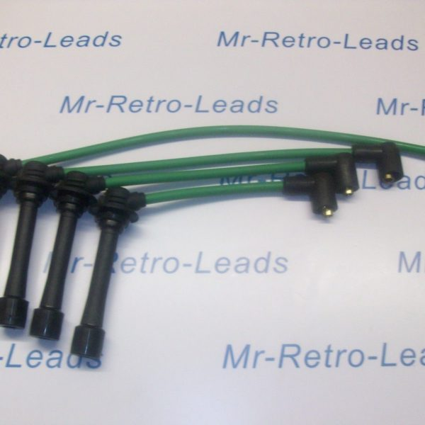 Green 8mm Performance Ignition Leads Will Fit.. Mazda Mx5 Mk1 Mk2 1.6 1.8 Eunos