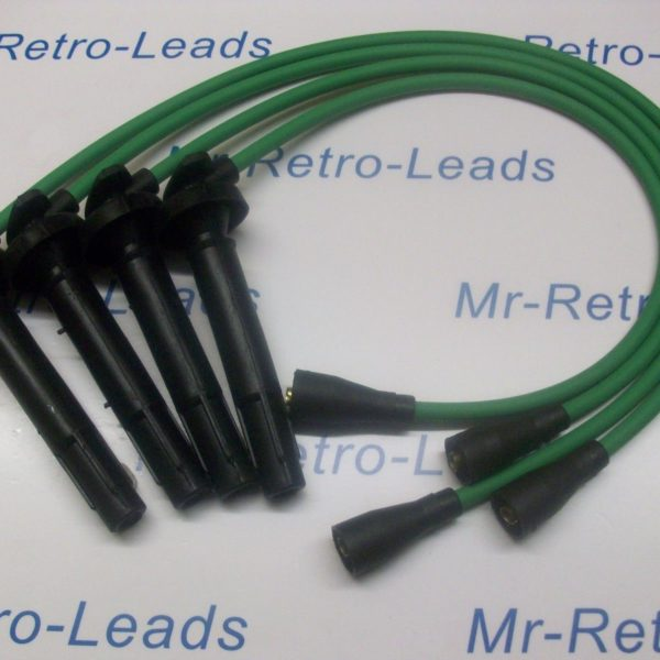 Green 8mm Performance Ignition Leads Will Fit.. Subaru Impreza Forester Quality