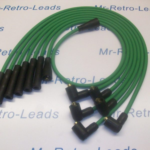 Green 8mm Performance Ignition Leads To Fit Ford Capri 2.8 Cologne V6 Quality Ht