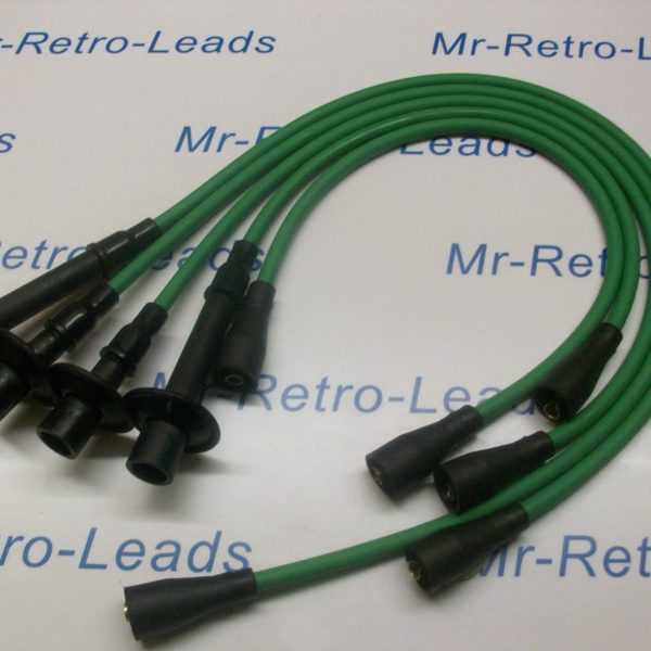 Green 8mm Performance Ignition Leads To Fit. Vw T2 Bay T25 Camper 1700 1800 2000