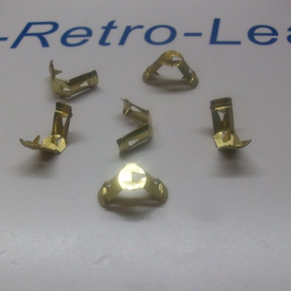Ignition Lead Brass Terminal 7mm Pin Type No Cutting X 6 Pack Quality