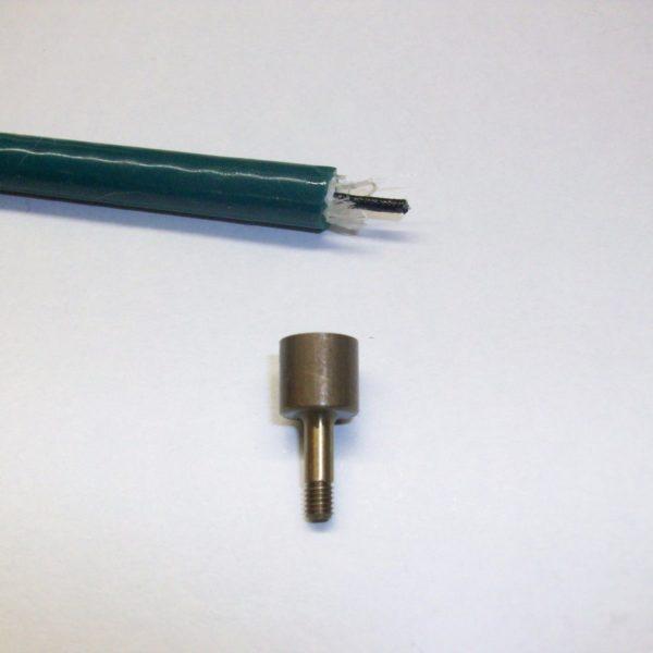 Mercury Outboard Distributor Threaded Socket End / Ferrell 7mm Lead Plug