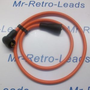 Orange 8mm Extra Long Ignition Lead Coil Cars From 50s / 70s And More 1 Meter Ht