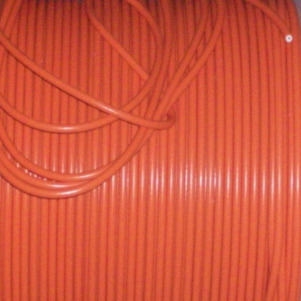 Orange 8mm Extra Long Ignition Lead Coil Cars From 50s  70s And More 1.5 Meter