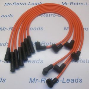 Orange 8mm Performance Ignition Leads Will Fit. Reliant Scimitar V6 Essex Tvr Ht