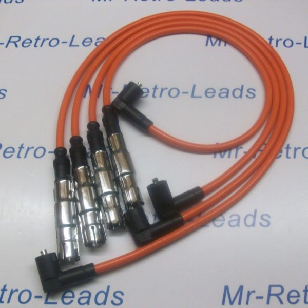 Orange 8mm Performance Ignition Leads Seat Ibiza 1.4 Arosa 1.4 Quality Ht Leads