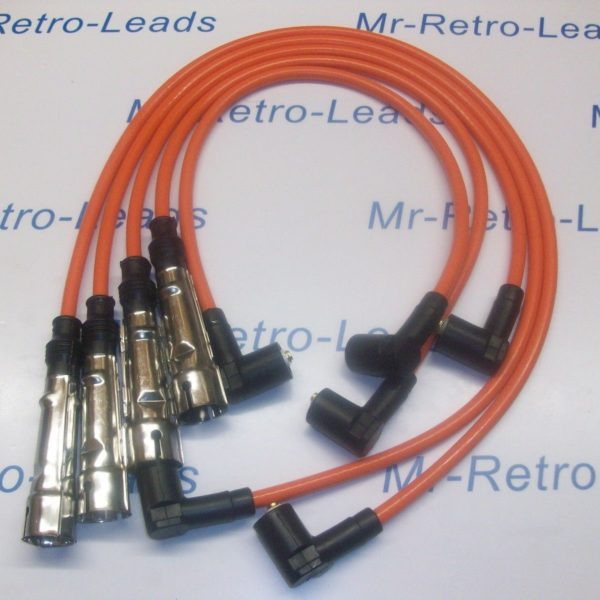 Orange 8mm Performance Ignition Leads Will Fit Vw Transporter Box 2.0 T25 Camper