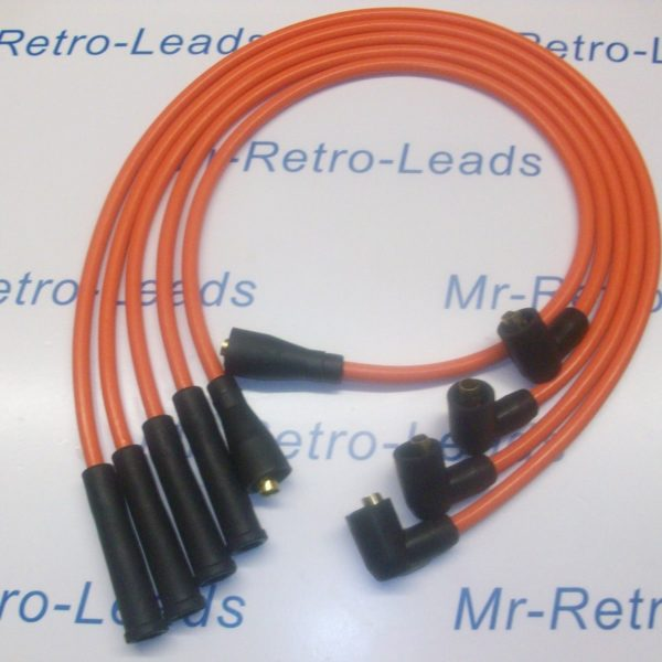 Orange 8mm Performance Ignition Leads Will Fit Opel Manta Quality Hand Built