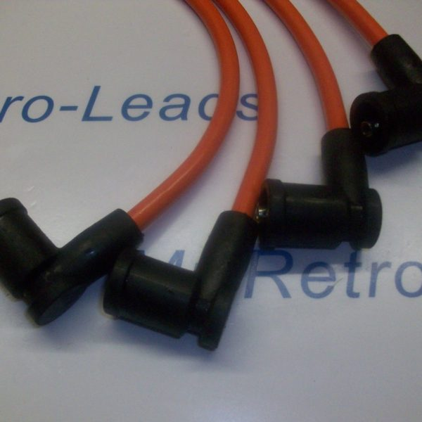 Orange 8mm Performance Ignition Leads Mazda Rx-8 Rx8 231 192 Ps D585 Coil Pack