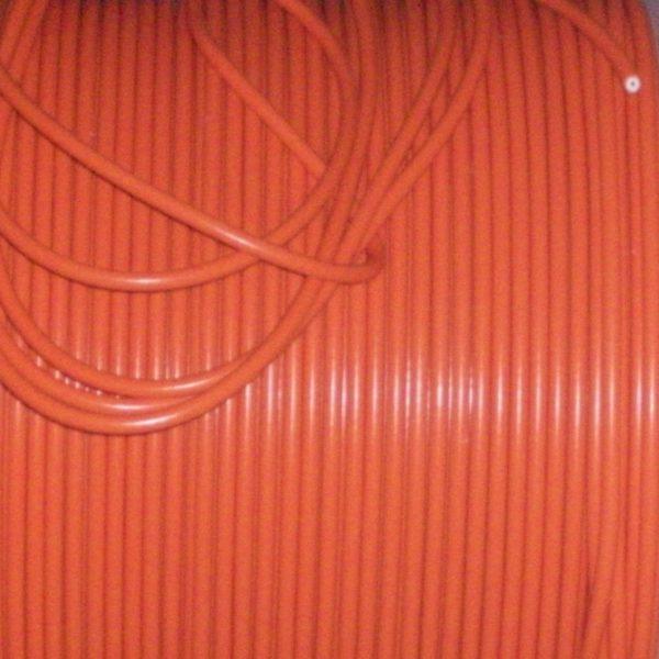 "Orange 8mm Performance Ignition Lead Kit Ht For 4 Cil 90""degree Spark Kit Car"