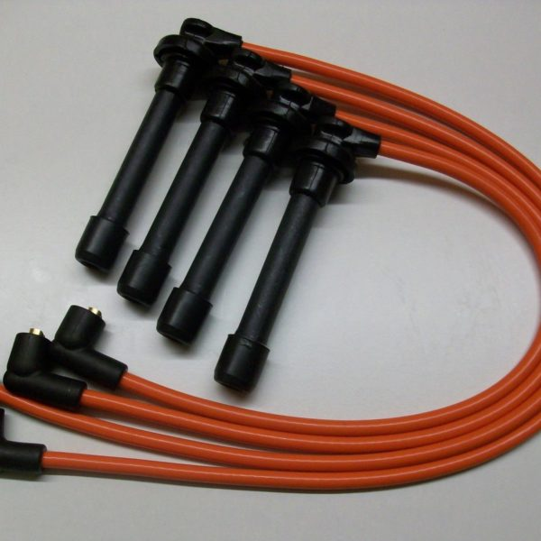 Orange 8mm Performance Ignition Leads Will Fit Honda Crx 1.6i Vti Mkiii Targa Ht