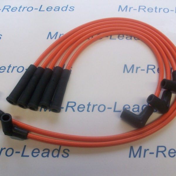 Orange 8mm Performance Ignition Lead Renault Clio R19 Gts 1.4 Express Quality Ht