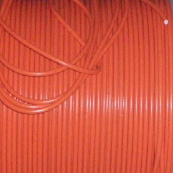 Orange 8mm Performance Ignition Leads Fiat Cinquecento Seicento 1.1 Sporting Ht