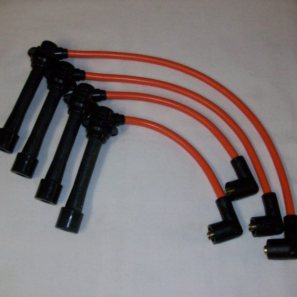 Orange 8mm Performance Ignition Leads Will Fit.. Mazda Mx5 Mk1 Mk2 1.6 1.8 Eunos